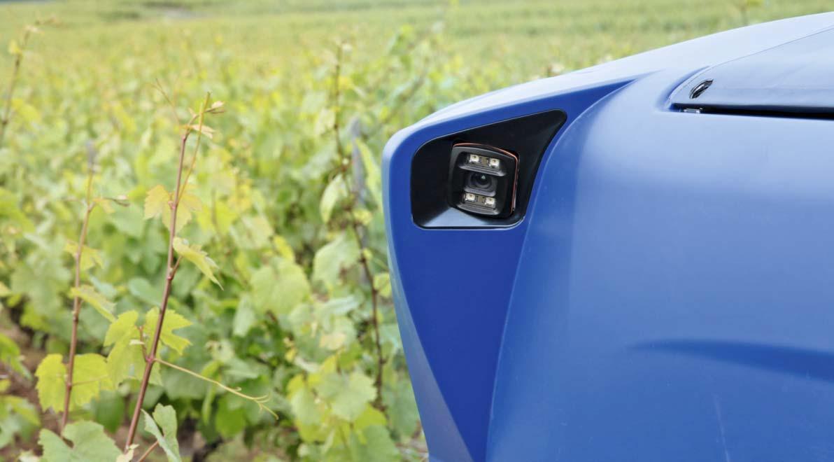 Vitibot – 3D cameras on self-driving robots for vineyards