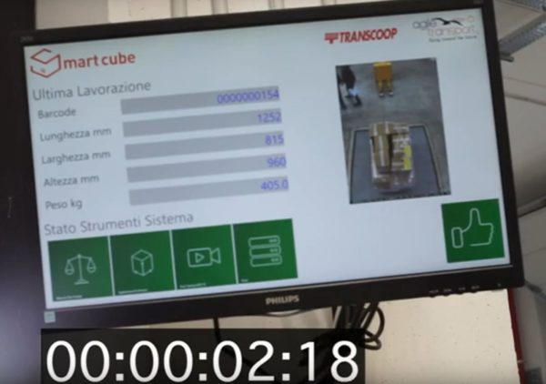 The display shows all measured data in less than 3 seconds.