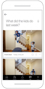 Lighthouse Smart Home Kamera: Beispiel Kinder zu Hause